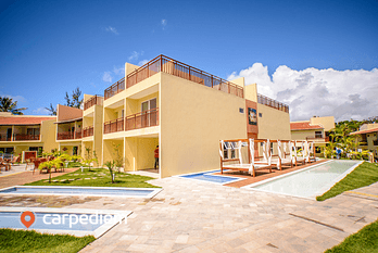 Apartment with pool for 4 people in Pipa